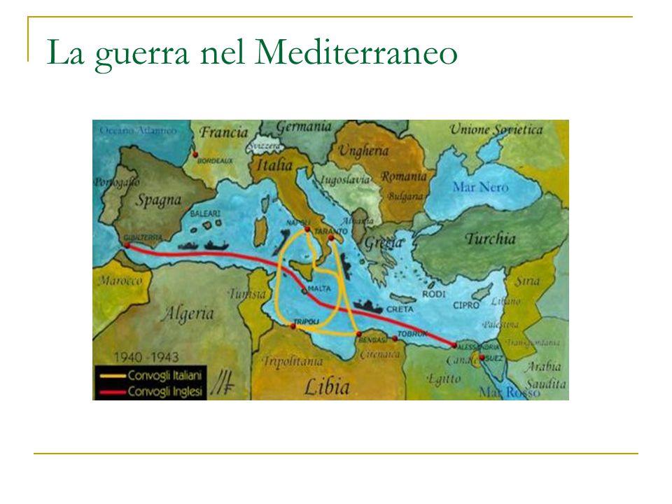 La guerra nel Mediterraneo