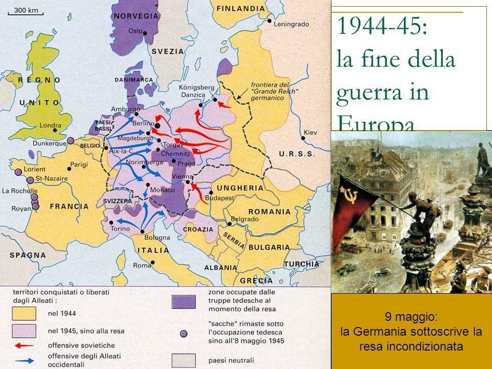 1944-45: la fine della guerra in Europa