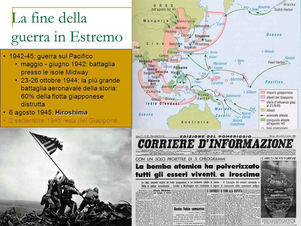 La fine della guerra in Estremo Oriente