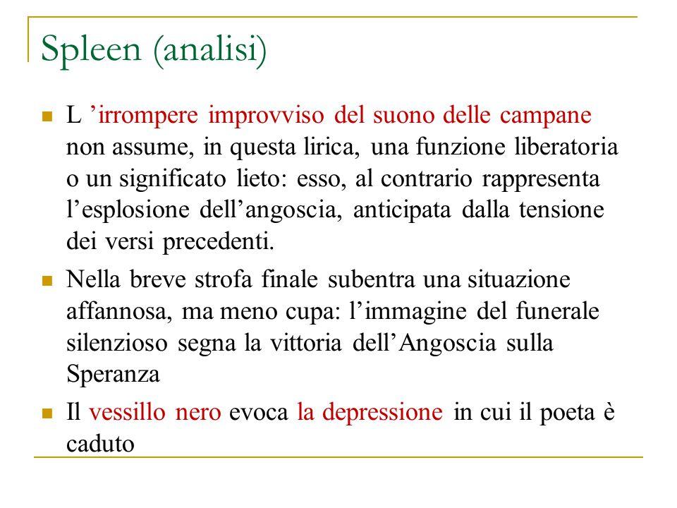 Spleen (analisi)