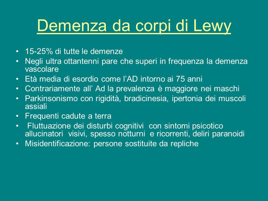 Demenza da corpi di Lewy