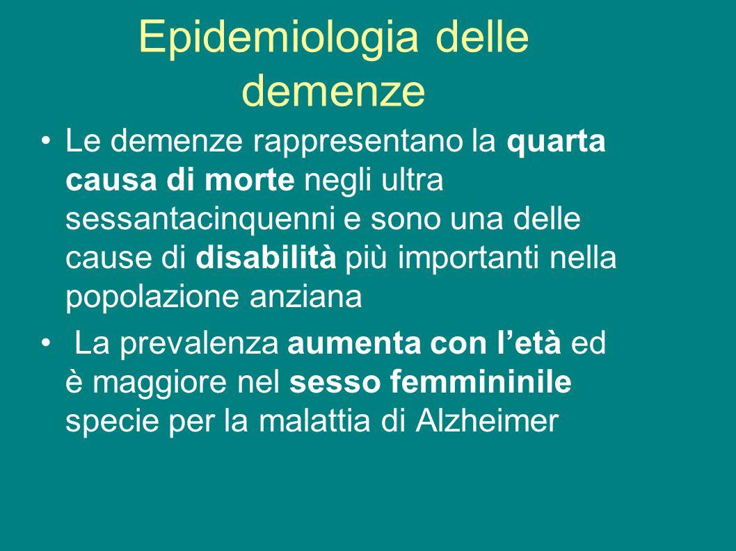 Epidemiologia delle demenze
