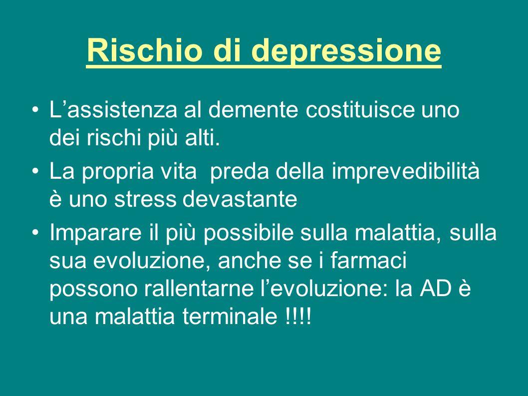 Rischio di depressione