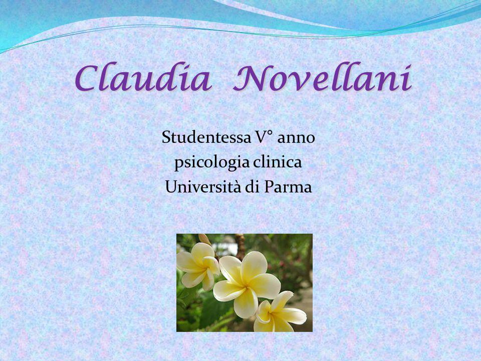Studentessa V° anno psicologia clinica Università di Parma