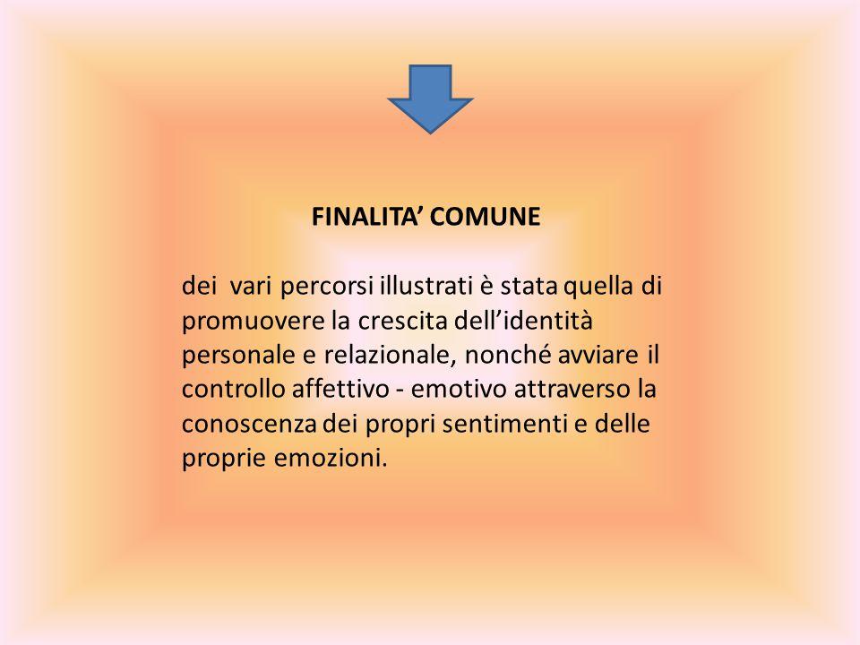FINALITA' COMUNE