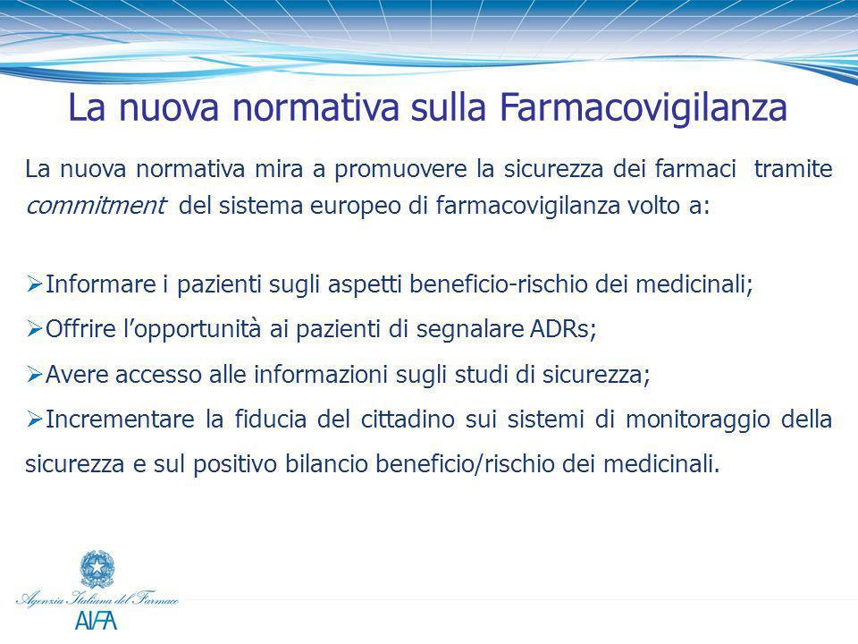 La nuova normativa sulla Farmacovigilanza