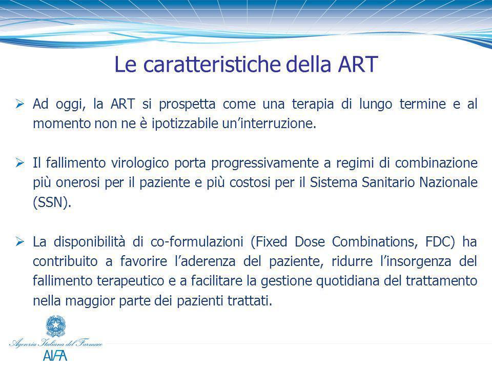 Le caratteristiche della ART