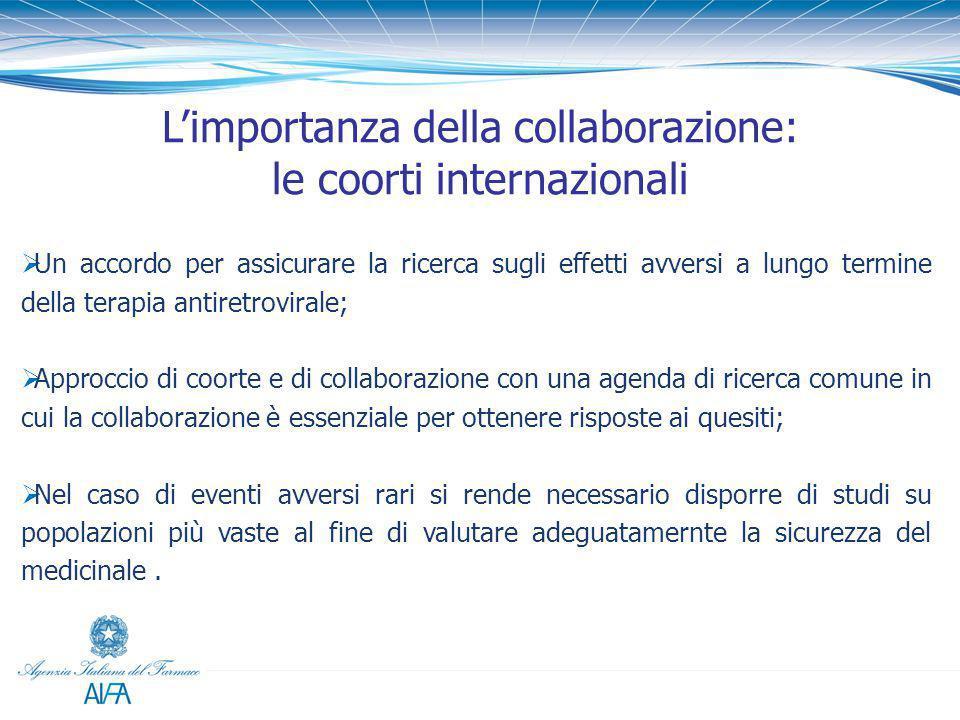 L'importanza della collaborazione: le coorti internazionali