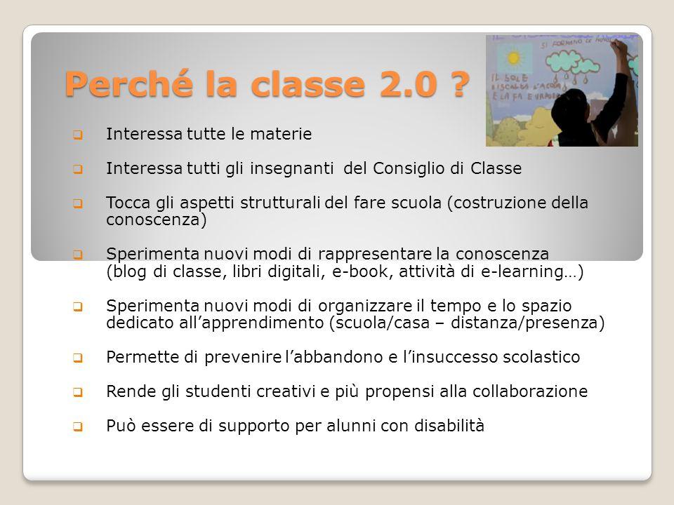 Perché la classe 2.0 Interessa tutte le materie