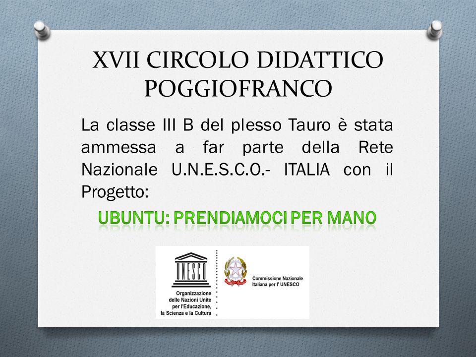 XVII CIRCOLO DIDATTICO POGGIOFRANCO