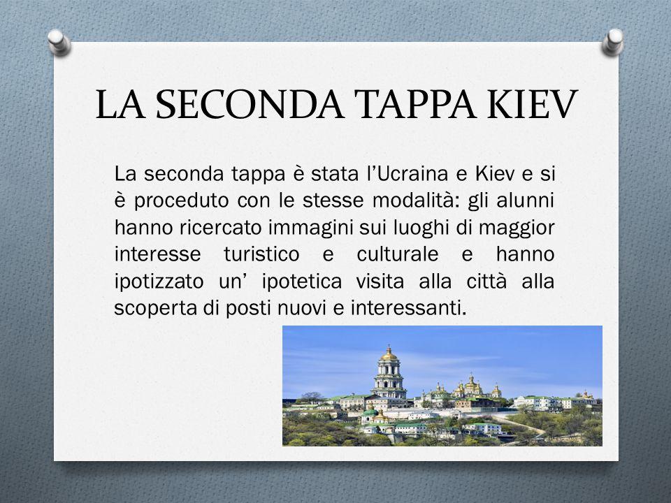 LA SECONDA TAPPA KIEV