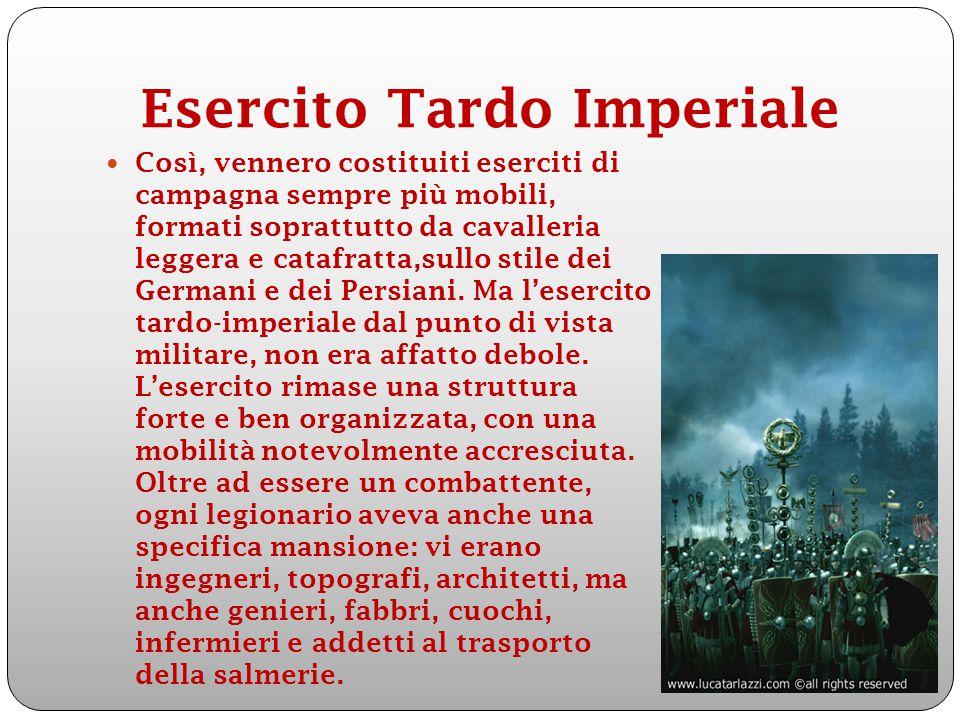 Esercito Tardo Imperiale