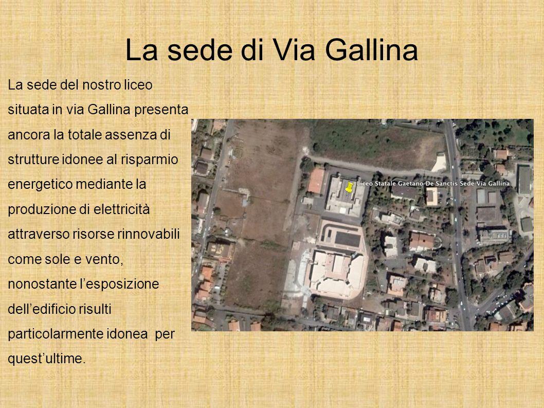 La sede di Via Gallina
