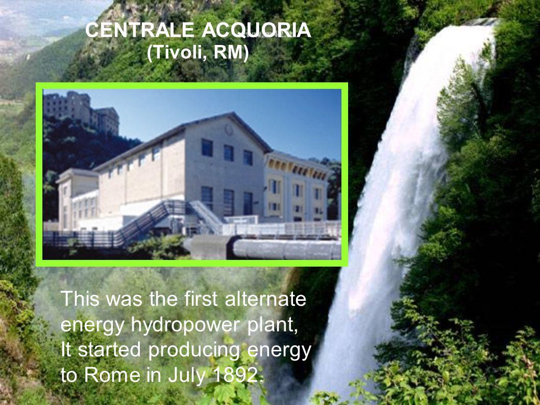 CENTRALE ACQUORIA (Tivoli, RM)
