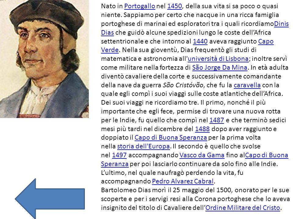 Nato in Portogallo nel 1450, della sua vita si sa poco o quasi niente