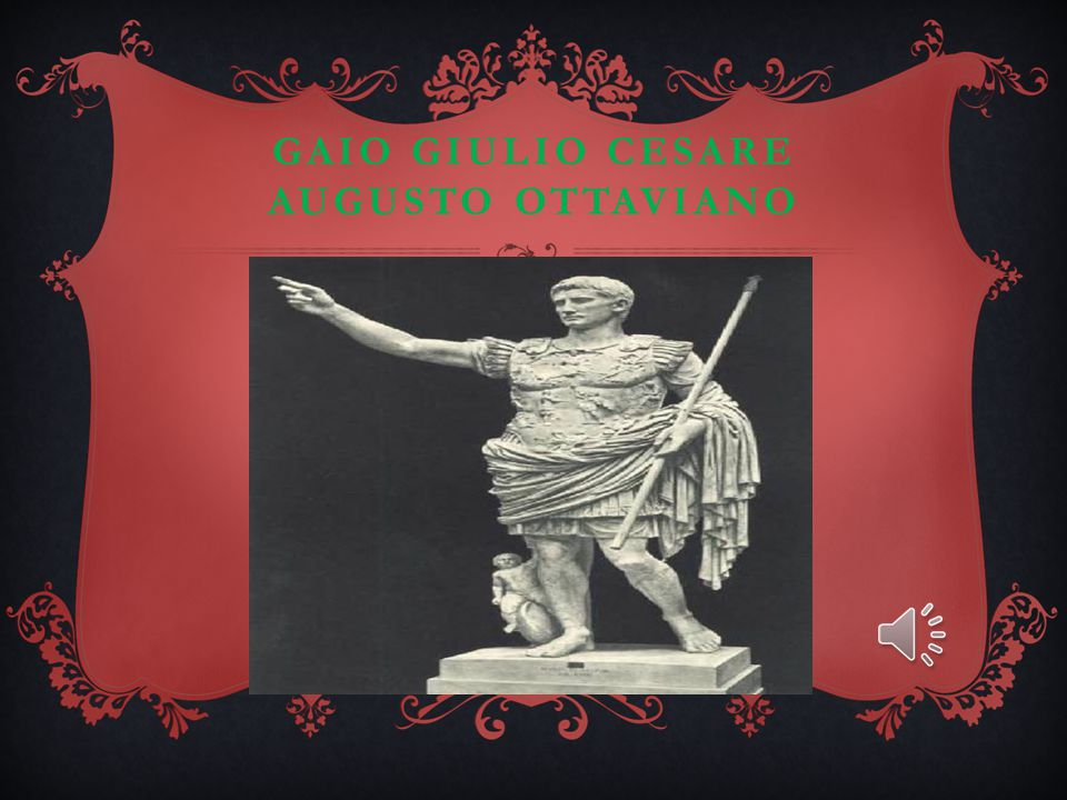 gaio giulio cesare augusto ottaviano