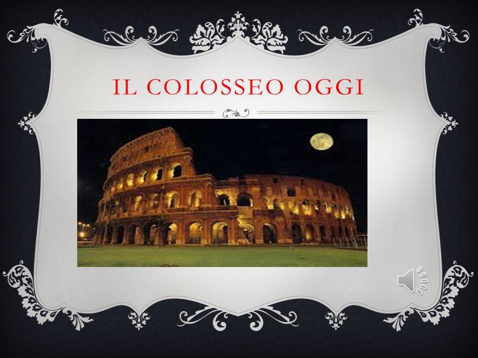 Il Colosseo oggi