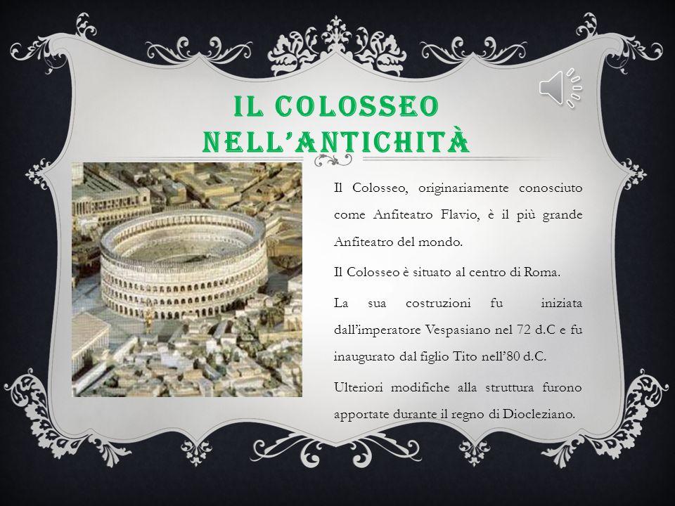 Il Colosseo nell'antichità