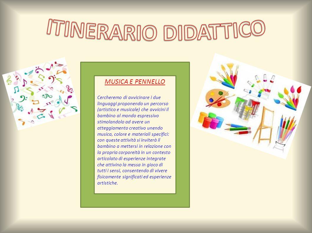 ITINERARIO DIDATTICO MUSICA E PENNELLO