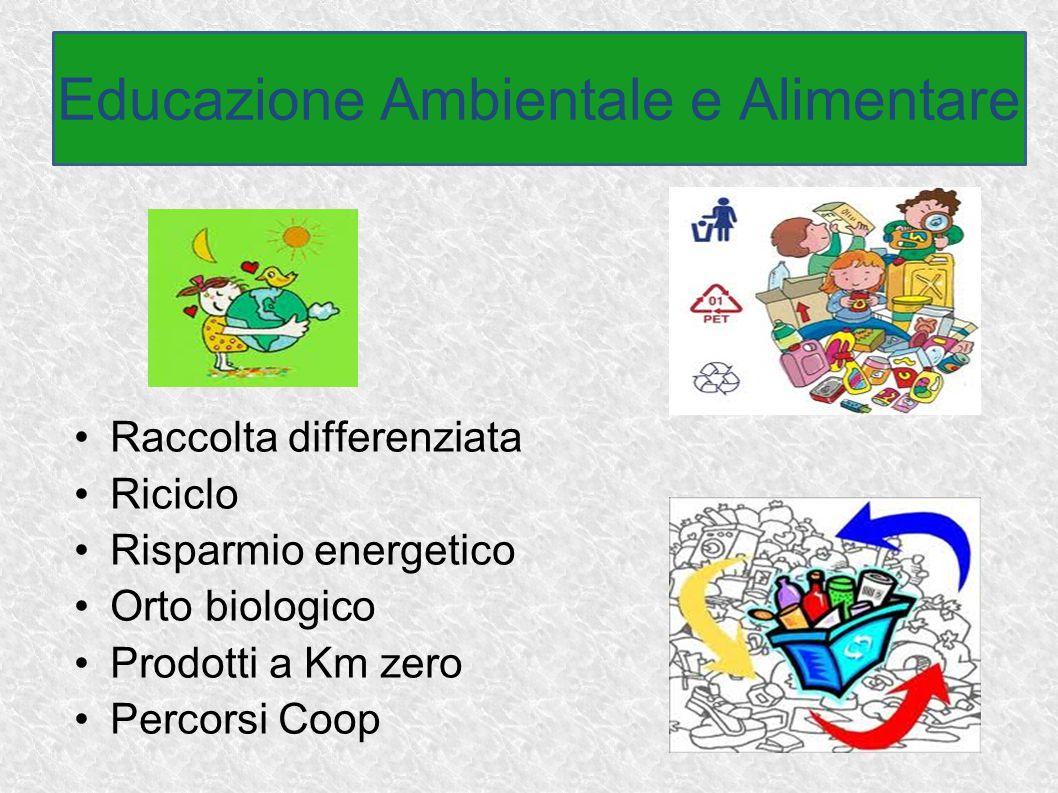 Educazione Ambientale e Alimentare