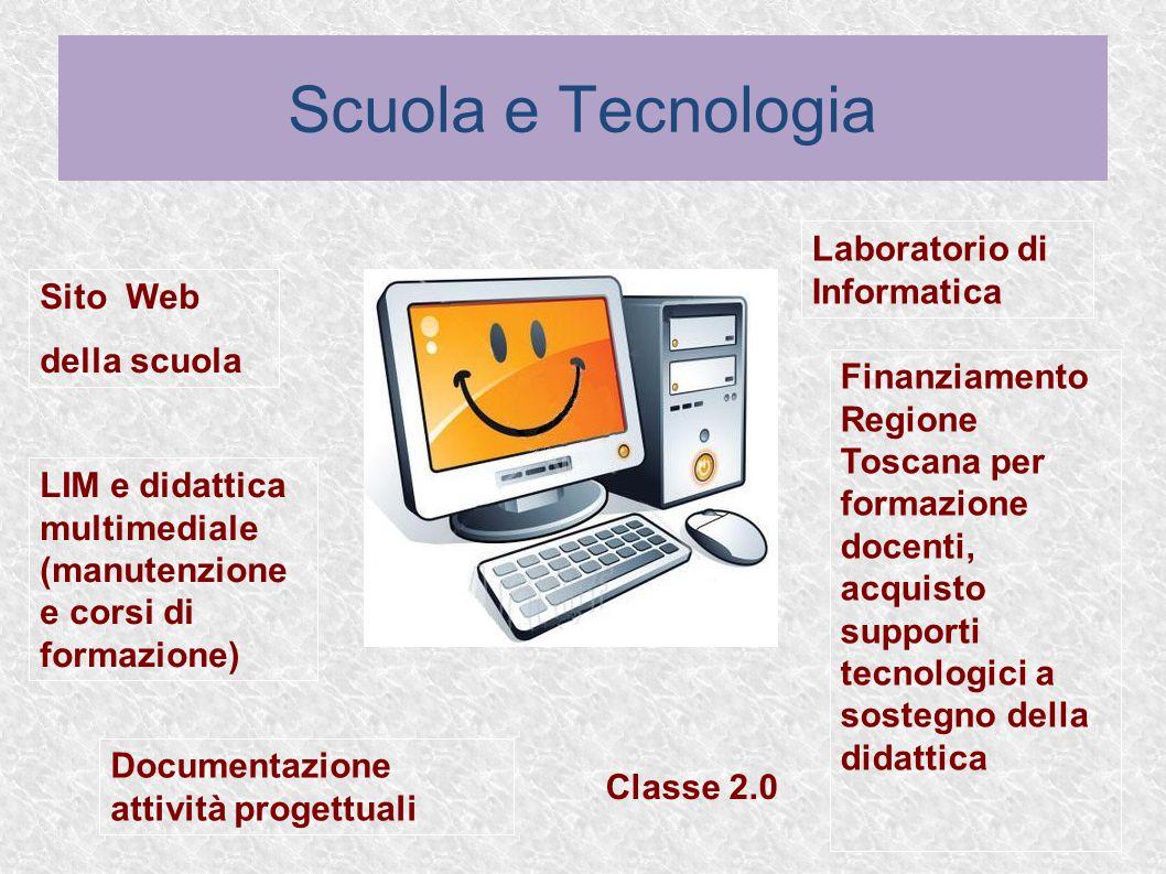 Scuola e Tecnologia Laboratorio di Informatica Sito Web della scuola
