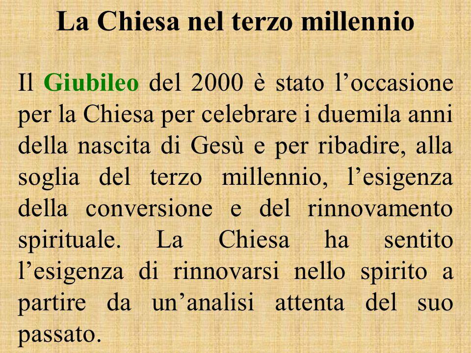 La Chiesa nel terzo millennio