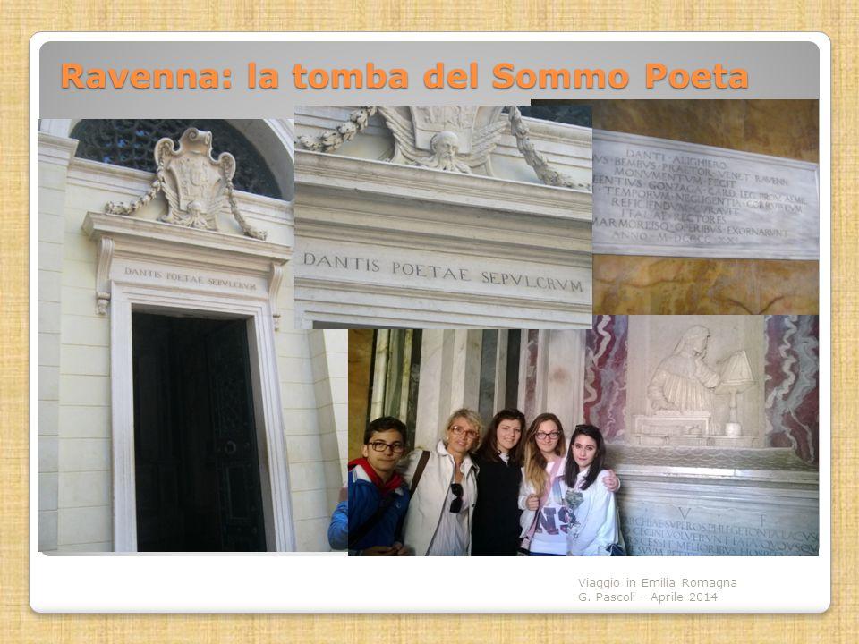 Ravenna: la tomba del Sommo Poeta