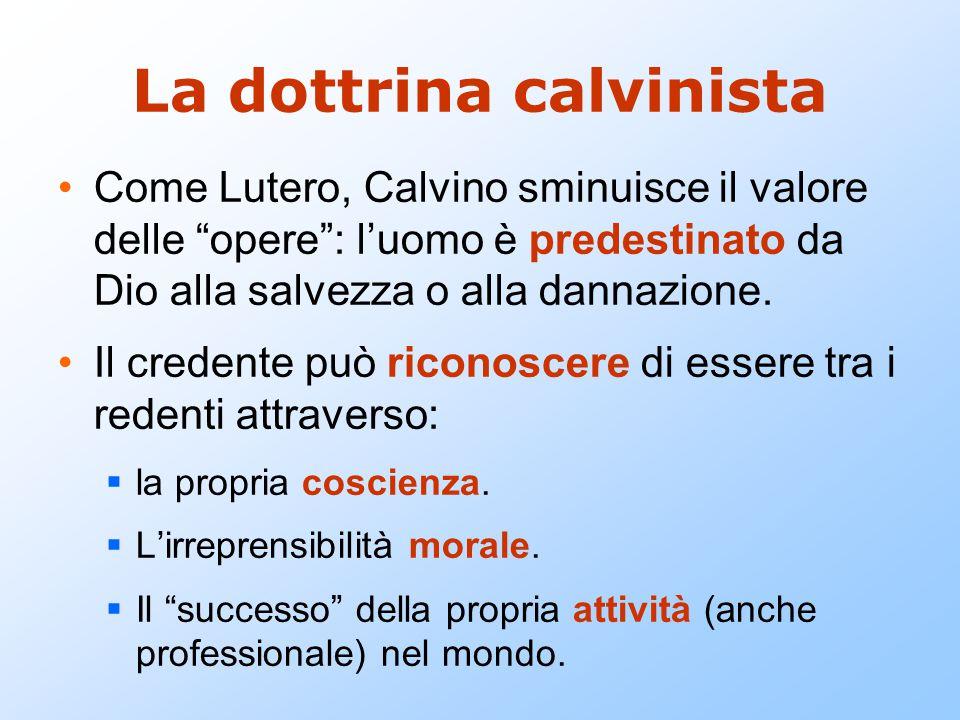 La dottrina calvinista