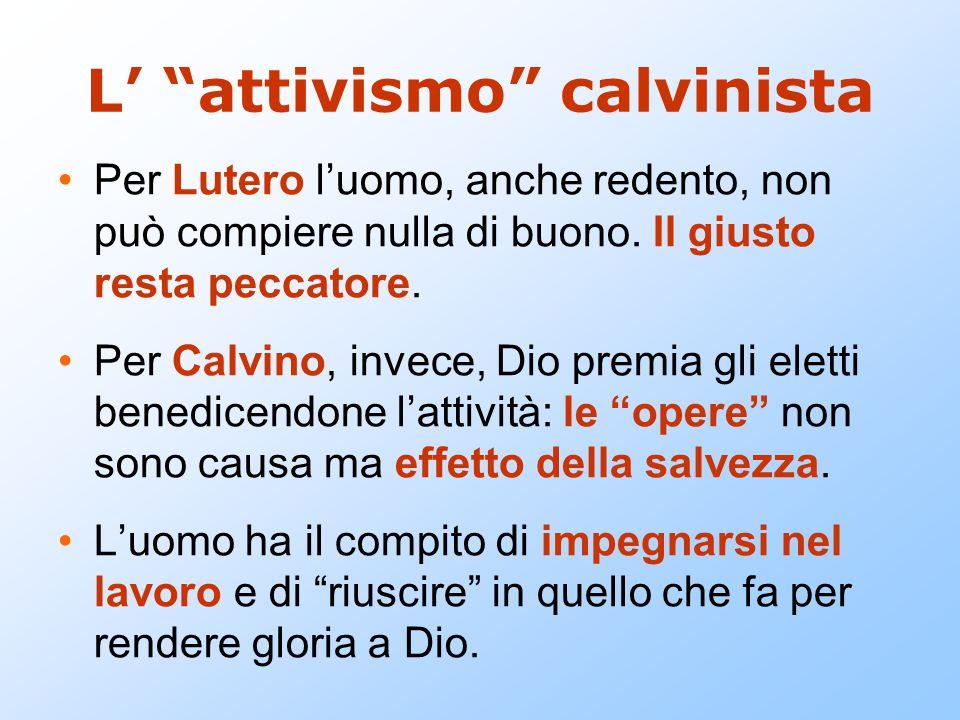 L' attivismo calvinista