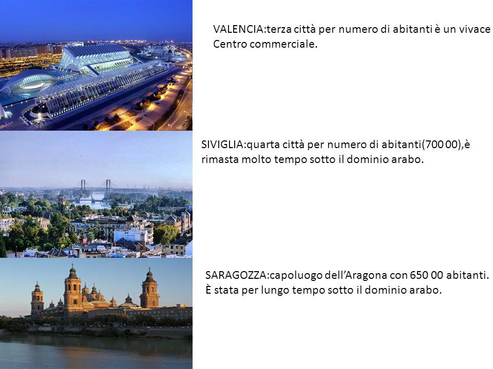VALENCIA:terza città per numero di abitanti è un vivace