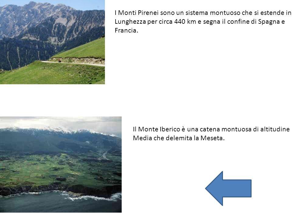 I Monti Pirenei sono un sistema montuoso che si estende in