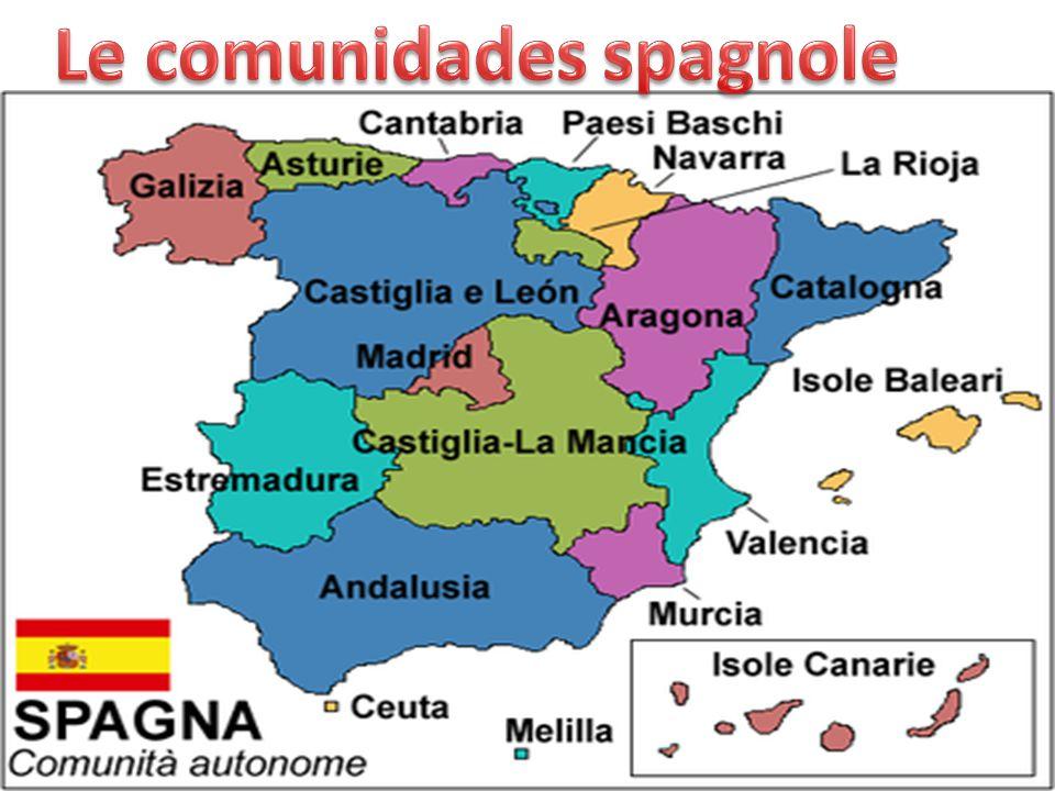 Le comunidades spagnole