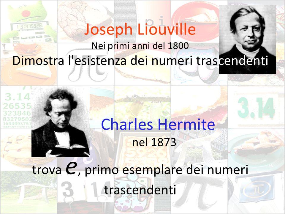 Joseph Liouville Charles Hermite