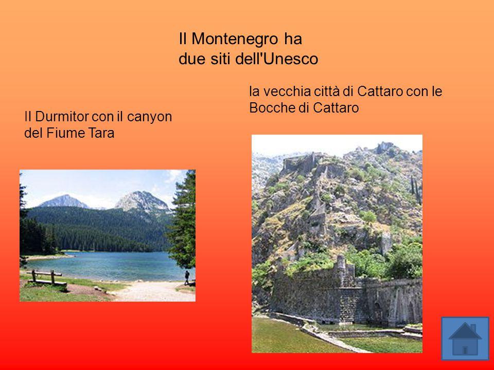 Il Montenegro ha due siti dell Unesco