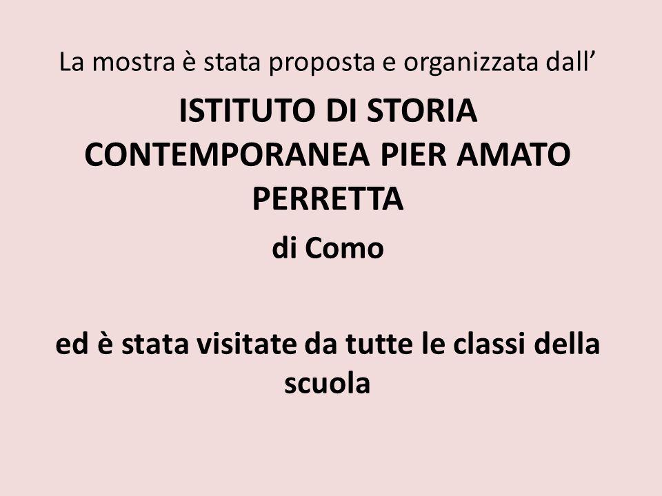 ISTITUTO DI STORIA CONTEMPORANEA PIER AMATO PERRETTA