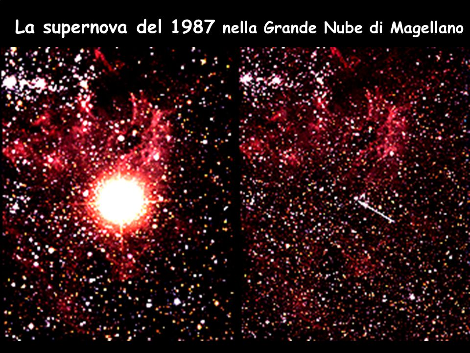 La supernova del 1987 nella Grande Nube di Magellano