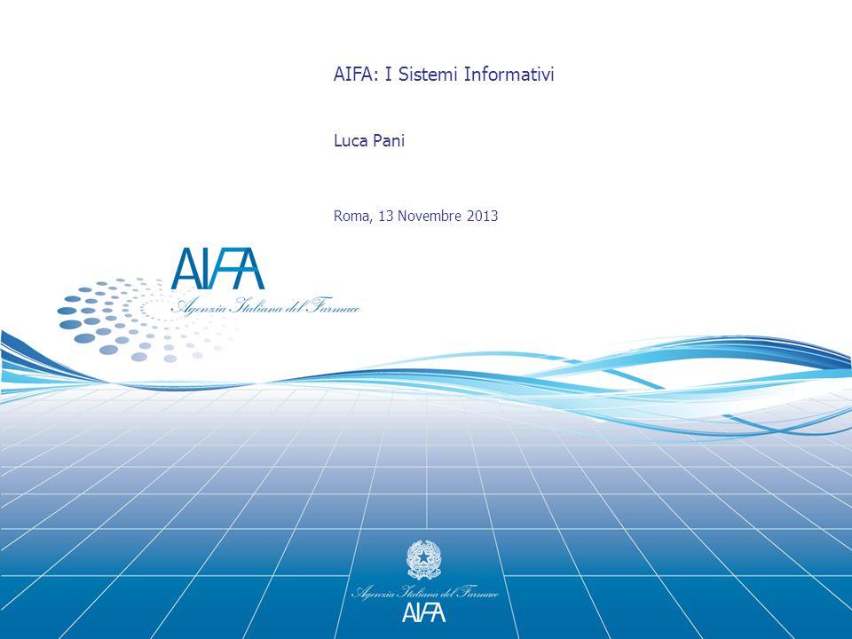 AIFA: I Sistemi Informativi
