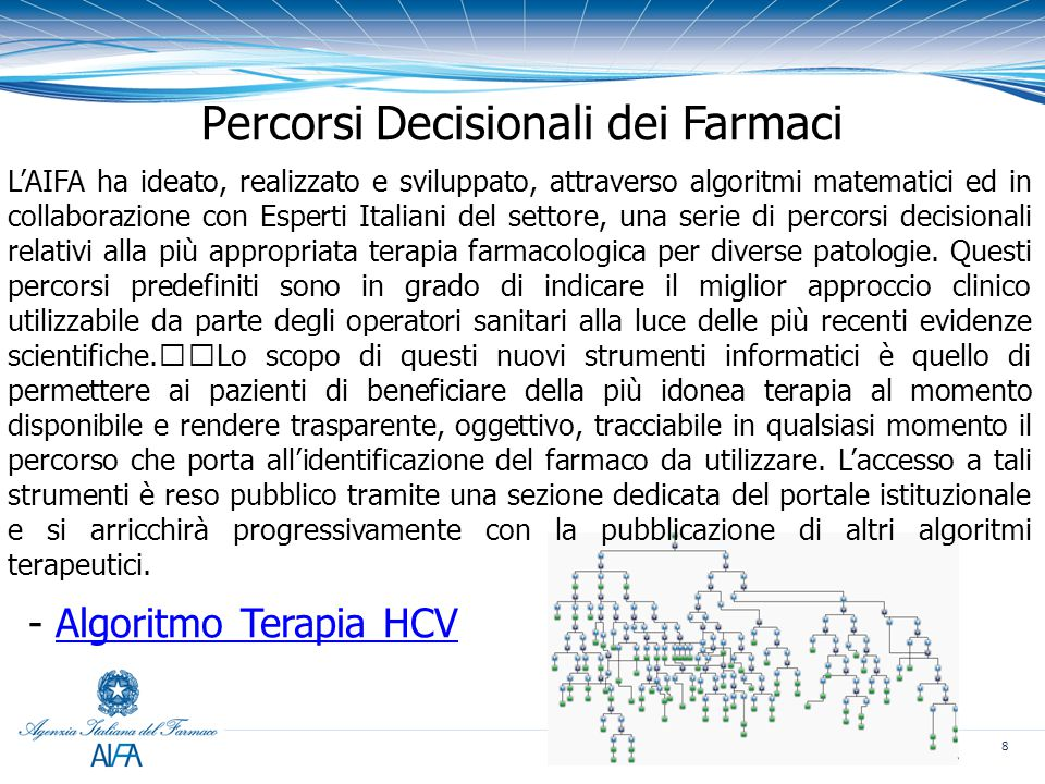 Percorsi Decisionali dei Farmaci