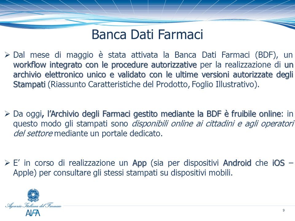 Banca Dati Farmaci