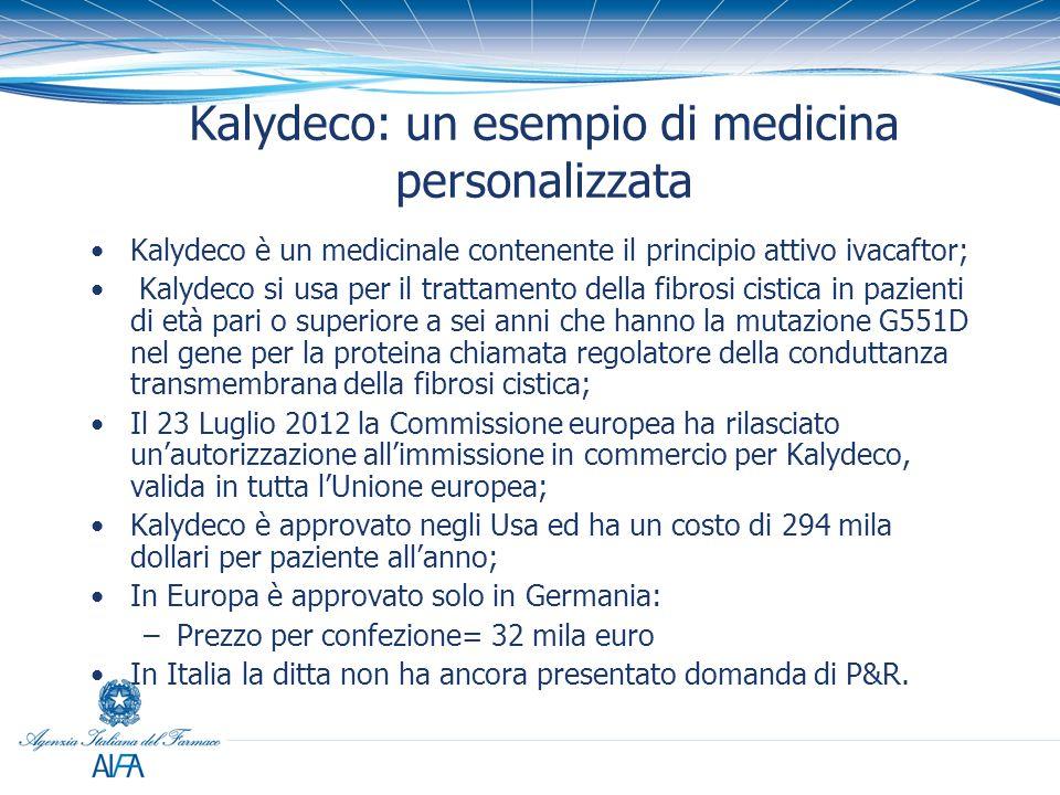 Kalydeco: un esempio di medicina personalizzata