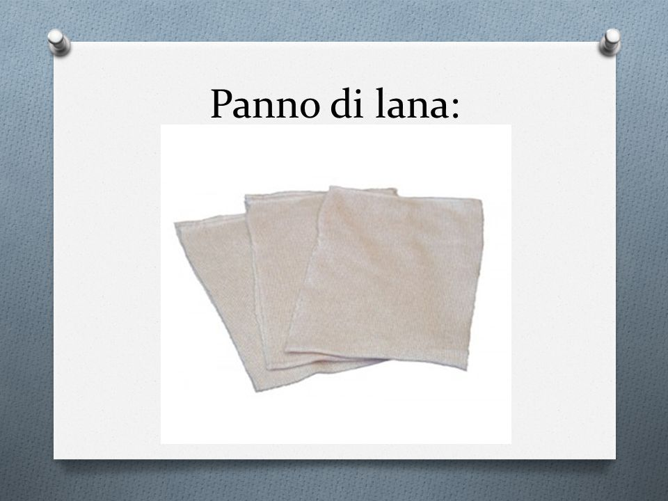 Panno di lana: