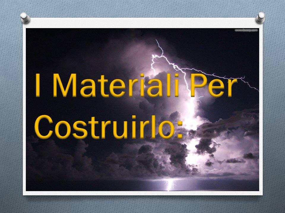 I Materiali Per Costruirlo: