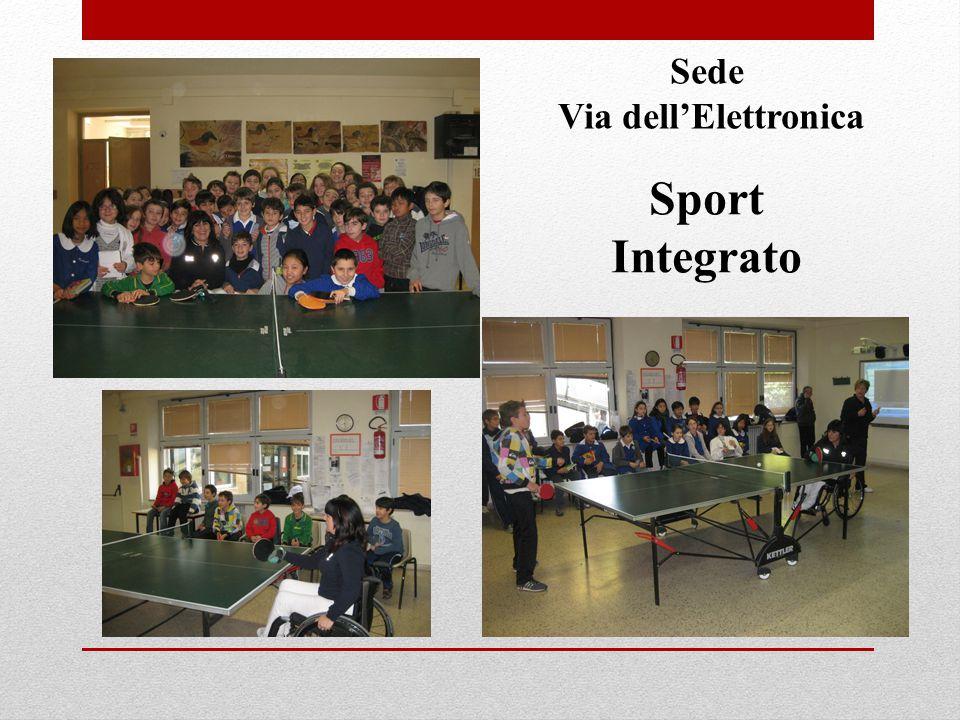 Sede Via dell'Elettronica Sport Integrato