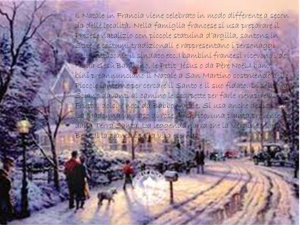 Il Natale in Francia viene celebrato in modo differente a secon