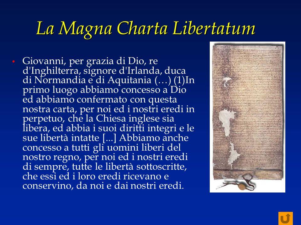 La Magna Charta Libertatum