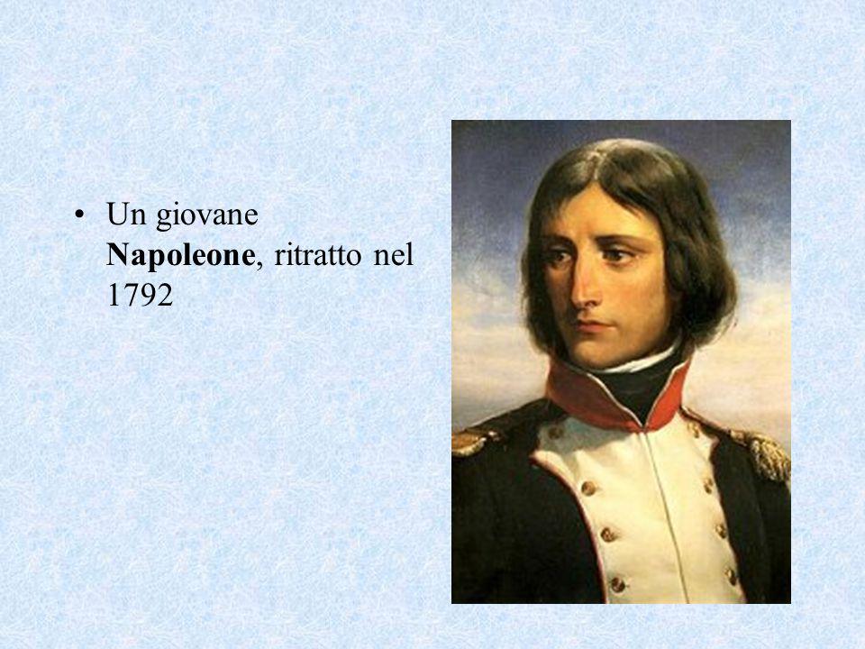Un giovane Napoleone, ritratto nel 1792