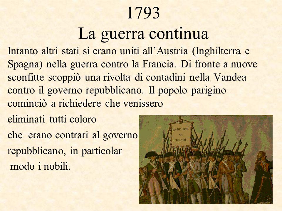 1793 La guerra continua