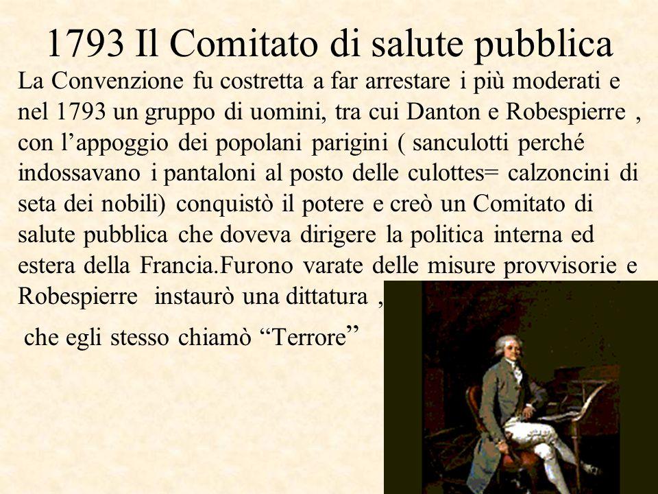 1793 Il Comitato di salute pubblica