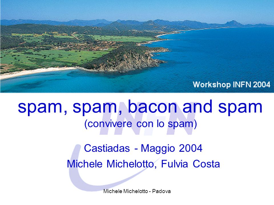 spam, spam, bacon and spam (convivere con lo spam)