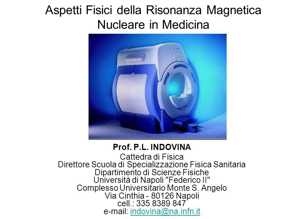 Aspetti Fisici della Risonanza Magnetica Nucleare in Medicina